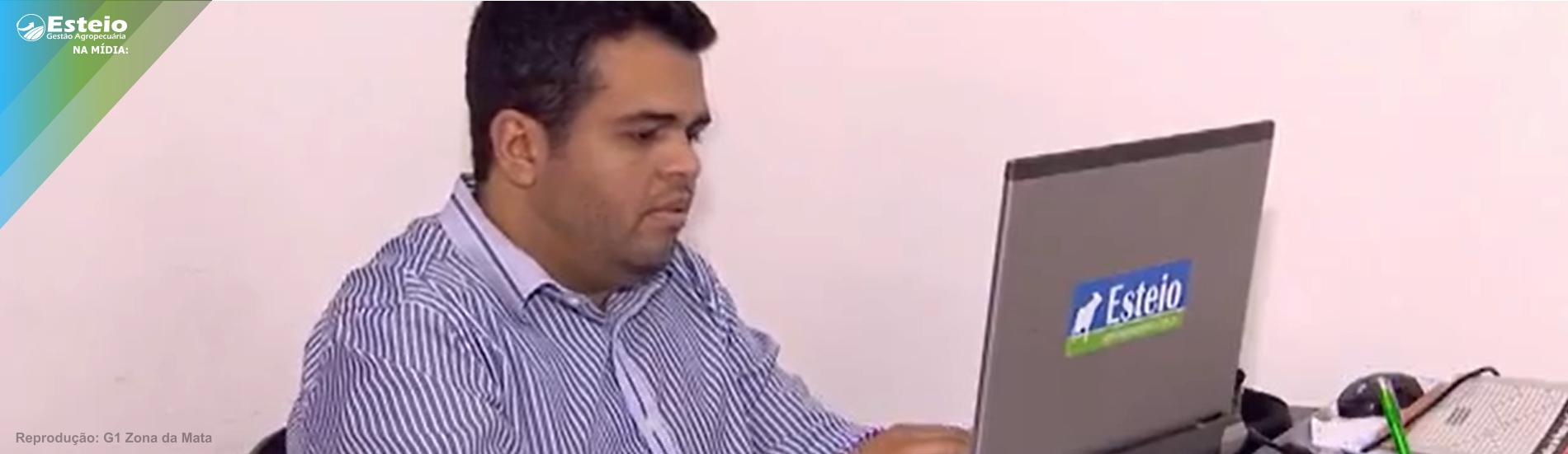 Entrevista para G1 Zona da Mata em reportagem sobre parque tecnológico